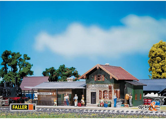 Faller H0 Scale Railway Stations & Buildings