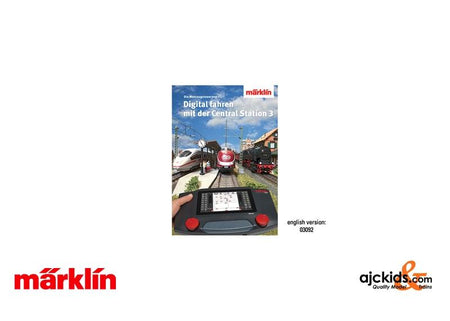 Marklin 03092 Book - Digital Control with Central Station 3,  English text