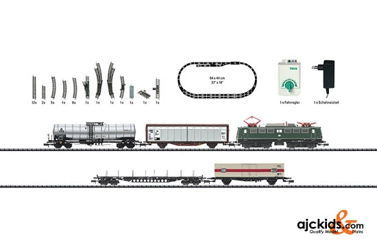 Trix 11128 Starter Set with a Freight Train