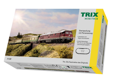Trix 11139 - Starter Set with a Passenger Train