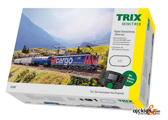 Trix 11141 - Swiss Freight Train Digital Starter Set