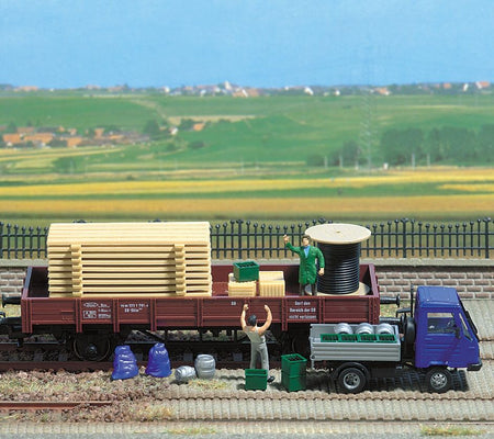 Busch 1132 - Freight Goods Assorted