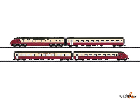 Trix 12338 TEE Express Powered Rail Car Train