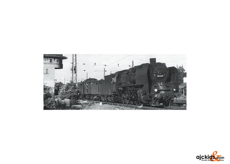 Trix 12381 - Freight Train Locomotive with a Coal Tender BR 50