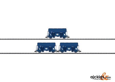 Trix 15089 Side Dump Car Freight Car Set