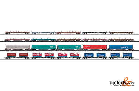 Trix 15277 20 Freight Cars,  for Alpine Transit