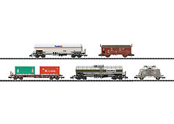 Trix 15285 Freight Transport Car Set