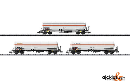 Trix 15302 Gas Tank Car Set