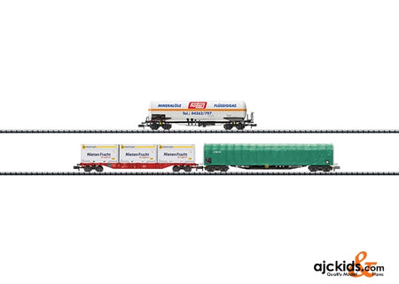 Trix 15303 Freight Transport Car Set