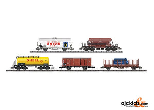 Trix 15501 - Car Display with 20 Freight Cars