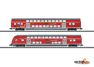 Trix 15776 - DB AG Hanseatic Express Bi-Level 2-Car Set