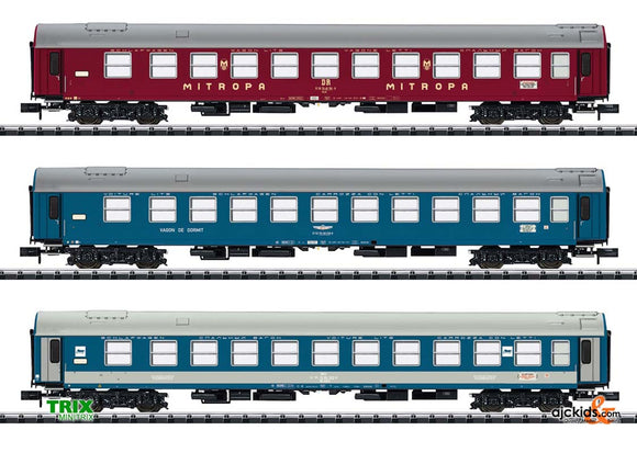 Trix 15996 - Baltic-Orient Express Express Train Passenger Car Set