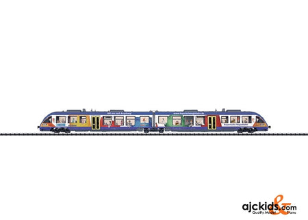 Trix 16481 LINT Diesel Powered Rail Car Train