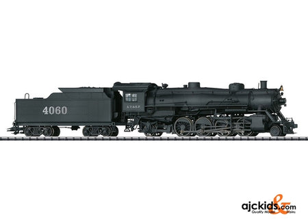 Trix 22591 Digital A.T.&S.F. Mikado Steam Locomotive w/Tender