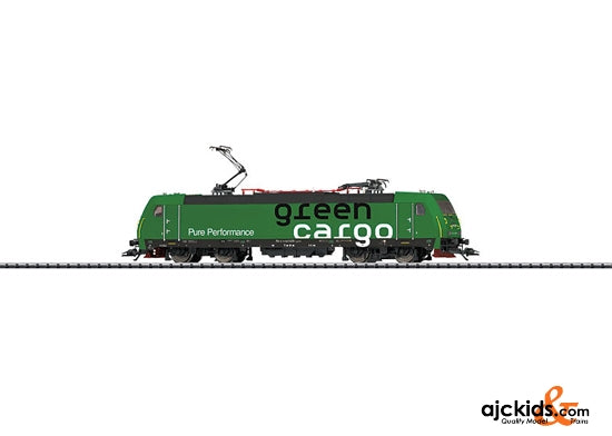 Trix 22807 - Electric Locomotive SJ Re 14 Green Cargo