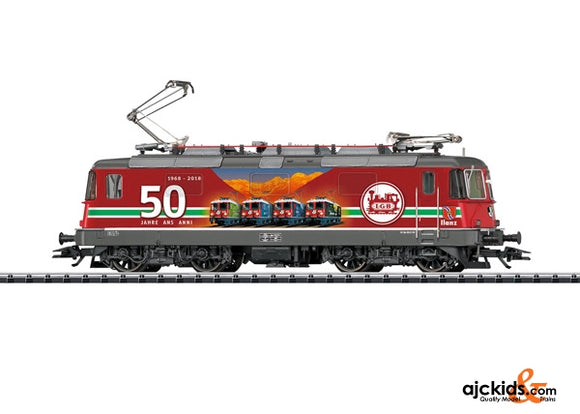 Trix 22843 - Digital SBB cl Re 4/4 II LGB 50 Anniversary Electric Locomotive
