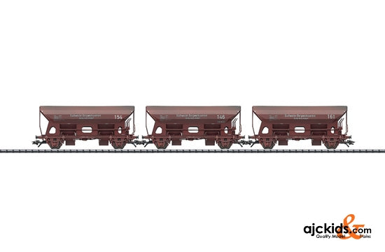Trix 24108 - Set with 3 Side Dump Cars Eschweiler Bergwerkverein