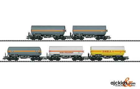 Trix 24112 Pressurized Gas Tank Car Set - Exclusiv 2011