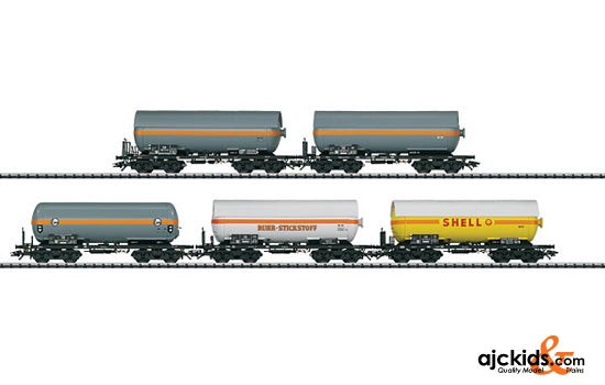 Trix 24112 - Pressurized Gas Tank Car Set - Exclusiv 2011
