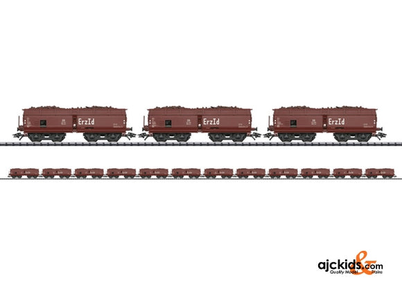 Trix 24120 - DB Erz Id Hopper 12-Car Set; Era IIIa
