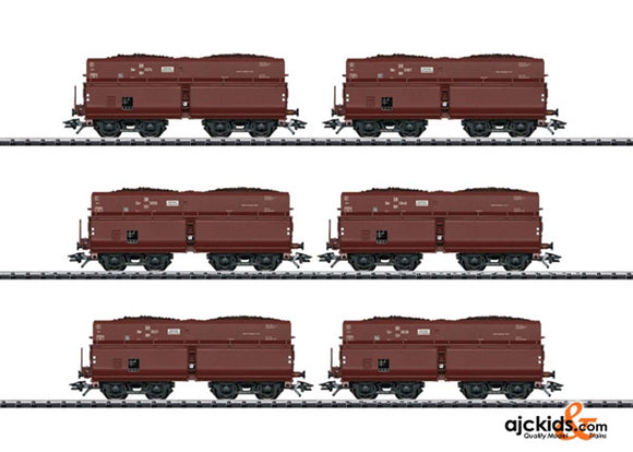 Trix 24122 DRG Type OOt Saarbr�cken / Erz IId Hopper Car Set; Era II