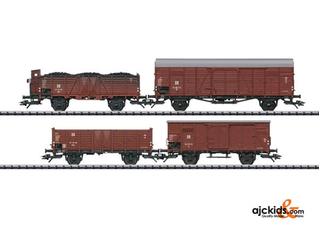 Trix 24128 DR Freight 4-Car Set; Era III