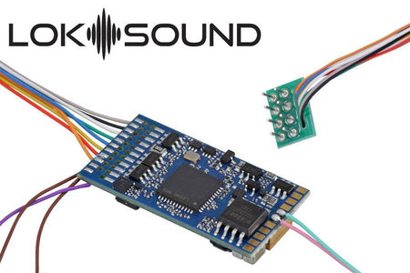 "ESU 58410 - LokSound 5 DCC/MM/SX/M4 ""Blank decoder"", 8-pin NEM652, Retail, with Speaker 11x15mm, gauge: 0, H0"