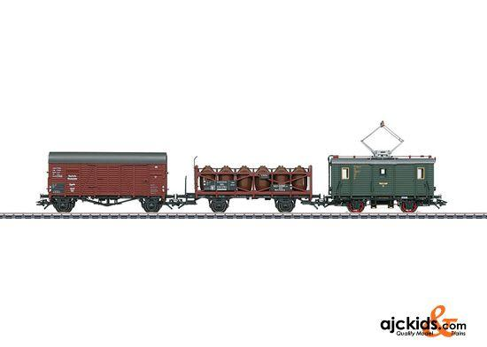 Marklin 26194 - Train Set with a Class ET 194 Freight Powered Rail Car in H0 Scale