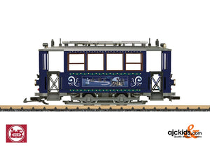 LGB 32351 - Trailer for the Christmas Trolley unpowered