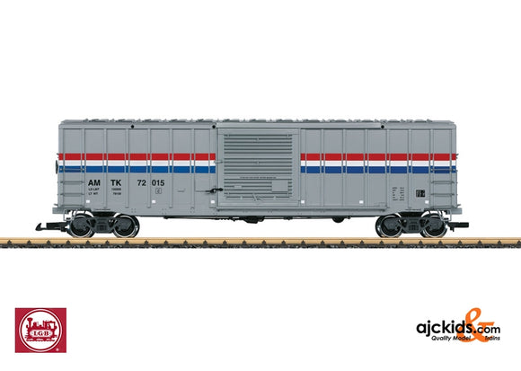 LGB 44931 - Amtrak Material Handling Car, Phase III