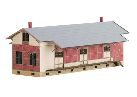 Trix 66323 - Kit for Sulzdorf Half-Timbered Freight Shed