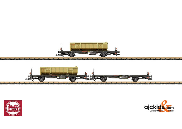 LGB 47899 - Container 3-Car Set RhB
