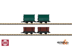 LGB 49190 - Light Railway 4-Car Set