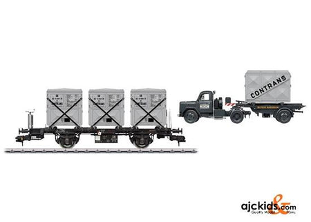 Marklin 58472 - Container Transport Car Set