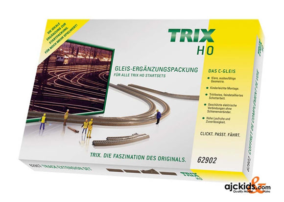 Trix 62902 Trix H0 C Track Extension Set C2