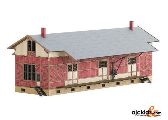 Trix 66323 Kit for Sulzdorf Half-Timbered Freight Shed