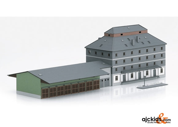 Trix 66324 - Raiffeisen Warehouse with Market Building Kit