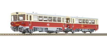 Roco 70372 - Diesel railcar class M 152.0 and caboose