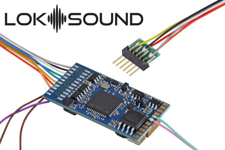 "ESU 58416 - LokSound 5 DCC/MM/SX/M4 ""Blank decoder"", 6-pin NEM651, Retail, with Speaker 11x15mm, gauge: 0, H0"