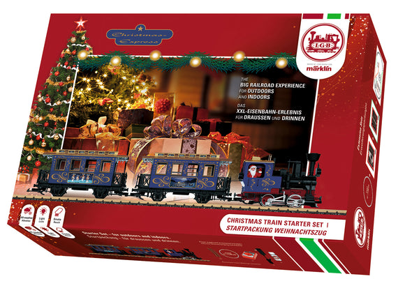 LGB 72305 - Christmas Starter Set Sound,  120 Volts