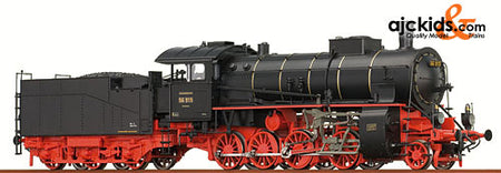 Brawa 40107 Steam locomotive BR 56 DRG (AC Digital Sound)