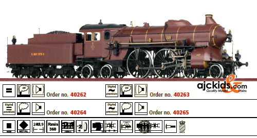 Brawa 40263 Steam Locomotive S 2/6 Pfalzbahn
