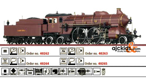 Brawa 40264 Steam Locomotive S 2/6 Pfalzbahn (sound)