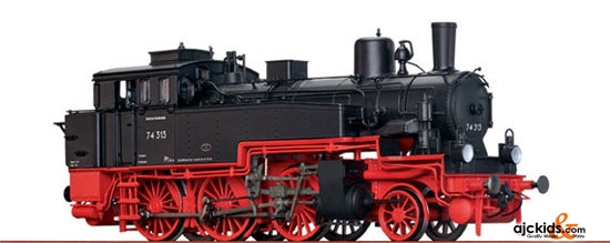 Brawa 40361 Steam Locomotive BR 74.0-3 DB (AC digital sound)