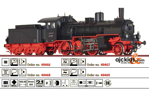 Brawa 40467 Freight Steam Locomotive BR 54