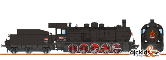 Brawa 40828 Steam Locomotive BR 534 CSD III DC