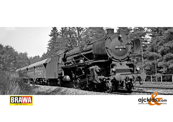 Brawa 40936 - H0 Steam Locomotive BR 01 DB, IV, DC An.