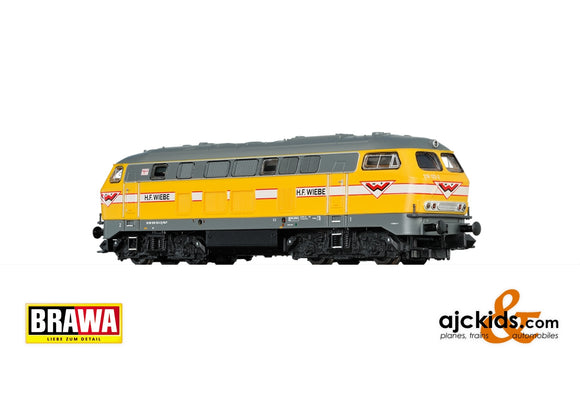 Brawa 41174 - Diesel Locomotive 216 Wiebe, VI, DC Digital