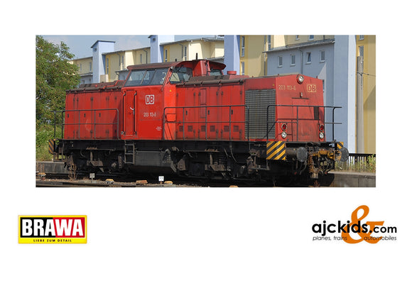 Brawa 41290 - Diesel Locomotive 203 DB, V, DC Digital Extra