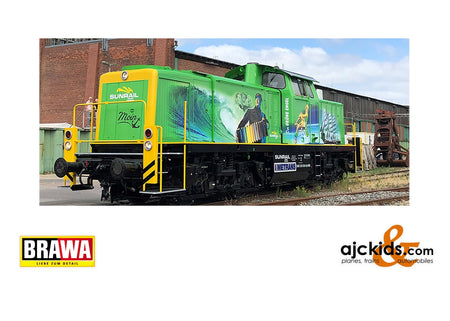 Brawa 41576 - Diesel Locomotive 291 DB, V, DC Digital Extra